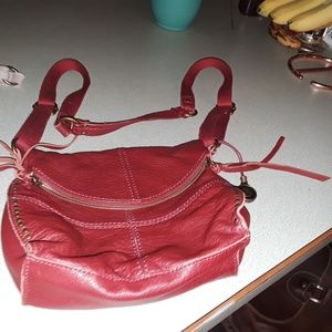 The SAK Silverlake RED purse - not coral RED